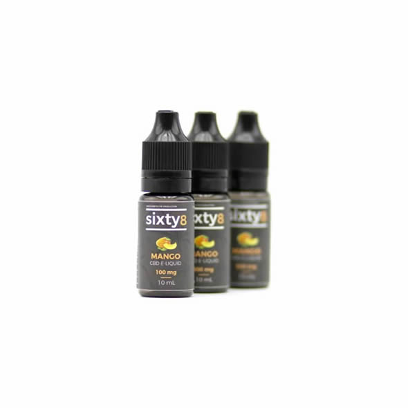 E-liquide CBD Sixty 8 - MANGO